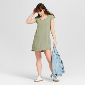 olive dress 2