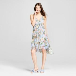 tank blue dress