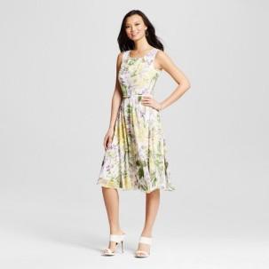 tropical easter dress