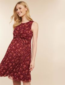 motherhood maternity burgundy