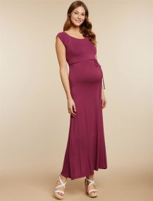 motherhood maternity purple